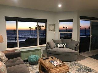 Panaramic Oceanview Beach Front Condo- recently renovated!