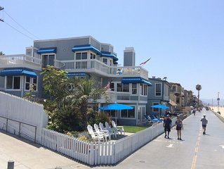 Beachhouse used on TV show 90210 Only Home With Sand On 2 Sides!  Middle unit