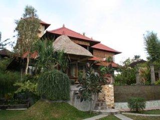 Elegant Artisan-Built Home in Ubud, Bali
