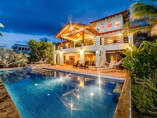 Oceanfront 5 Bedrooms with Amazing Pool, Great Ocean and Sunset Views!