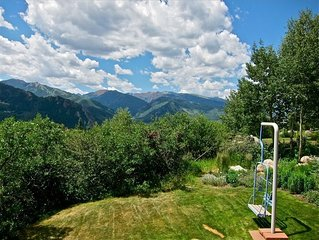 Heirloom Aspen: Luxury Private Home With Jawdropping Unobstructed Views of Aspen