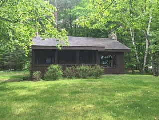 Cottage with direct access on Big Glen. Pets Ok. August 2019 still available.