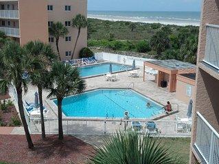 St. Augustine Beach & Tennis Club, Florida: Spectacular View!