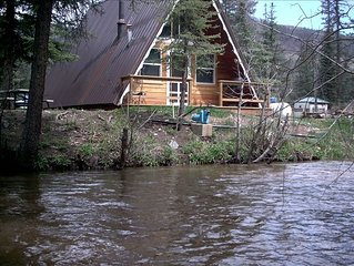 Creekside A-Frame One acre of land