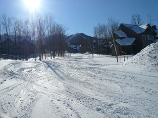 Jay Peak Village 2 bedroom ski-in, ski-out condominium