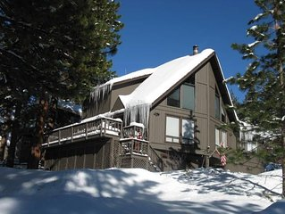 Best Value in Incline Village! Mountain Home, Peeks of Lake, Open Space