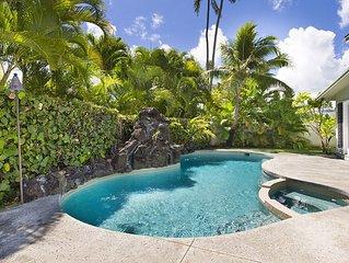 Private Beachside Kailua Home - Remodeled w/AC - 3 min walk to beach!