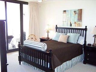 Luxury Beachfront Holiday Isle Condo. Top Floor!