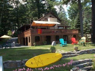 Serenity - Lake Front Home On Glen Lake Near Lake George