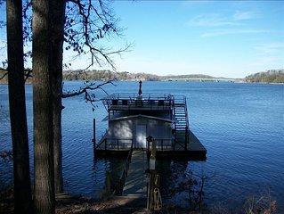 Memorable Lake Chalet, Views, Party Dock