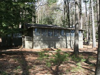 Classic Cottage On Big Glen Lake's West Shore.