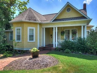 Aiken downtown Historic renovated Cottage  ~ 1/2 Block To The Wilcox hotel
