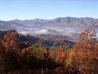 Smoky Mountain Getaway Awesome View!