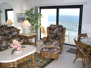PAT'S PLACE Sunglow Resort #703 UPDATED Two Bedroom Oceanfront Condo