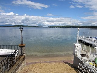 Weirs Beach 2 Bedroom Cottage Steps Away from Lake & Beach!