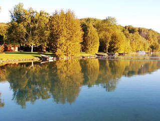 Affordable Lakeside Vacation Rental in Leelanau County on Lime Lake