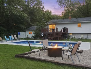Michiana Shores Oasis | Newly Remodeled | Heated Pool | Minutes from Beach