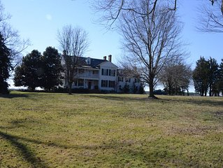 Classic Eastern Shore Waterfront Manor House