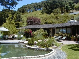 Carmel Valley Peaceful & Serene Retreat with Pool & Hot Tub