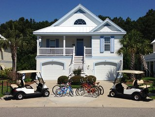 Gated Community, 5 bedroom 4 1/2 baths, WIFI Game Room, Bikes, Large Back Patio,