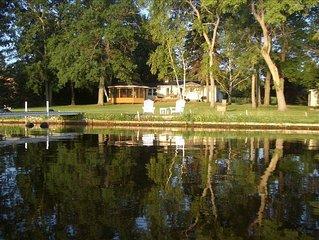 Lakefront Getaway on Beautiful Lake Noquebay