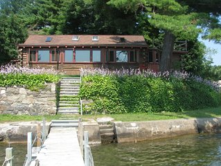 Log Cabin on Lake George, Dock Space