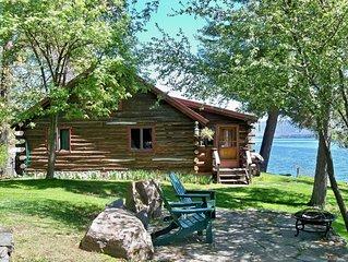Log Cabin on Lake George, Dock Space