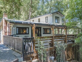 Healdsburg River Front Oasis Retreat.