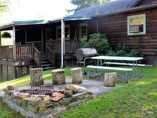 The Evergreen! Historic Cabin