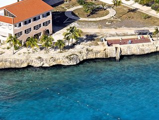 Stunning Oceanfront Location 16 Feet From The Caribbean Sea!