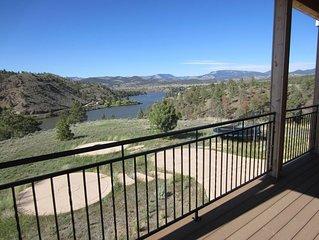 Amazing Lake & Mountain Views - Lakefront Property On Hauser Lake