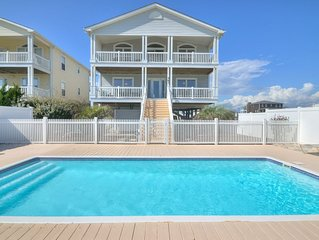 Oceanfront 4 bd home with pool!   BOOK NOW FOR THE FALL