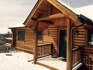 Mountain Top Log Cabin Retreat