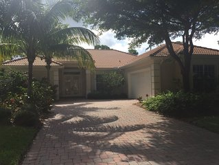 Lovely 4bed with private pool,quiet gated community on Florida's Treasure Coast