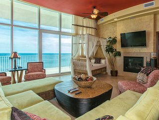 'Ocean Safari'  A One-Of-A-Kind Penthouse w 2 GF MBR's