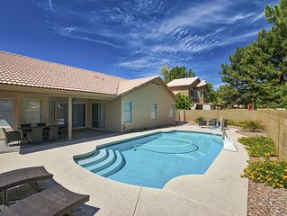 Heated Pool, 4 Bedroom, 2 Bath, 1 Level Home