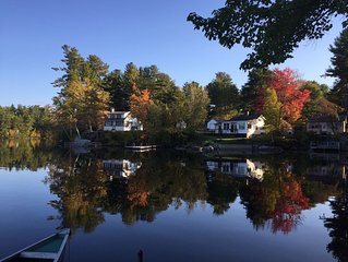 Classic Maine Cabin On Quiet Panther Pond In Raymond, ME
