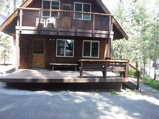 Great West End Donner Lake Location for Kids and Dogs