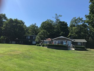 Beautiful Cottage With Sandy Beach Located On Big Glen Lake's South Side