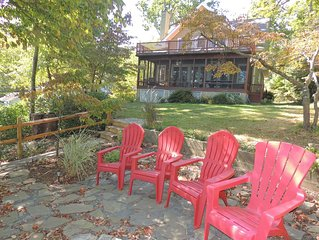 Waterfront - Wonderful View, Spacious, Relaxing, Lovely Front Porch and Deck