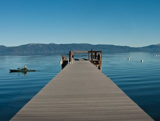 Lovely lakefront, old Tahoe charm