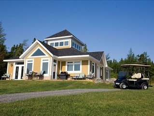 Newly Built House Overlooking Bras D'or Lakes - Golf Included in rates!
