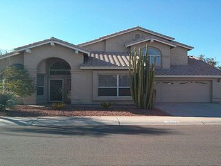 Lakefront Home In Golf Course Community Of Estrella Mt Ranch
