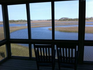 'The View' - Rent the Most Spectacular View on Bald Head