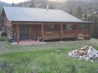 Log Cabin on Rio Grande River 4BR-2BA