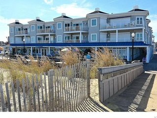 3BR / 3BA OCEANFRONT Condo on the Bethany Boardwalk with a POOL