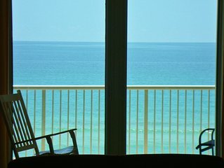 Newly renovated, ultimate in cleanliness, waterfront, largest beachfront balcony