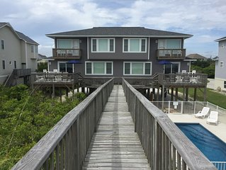 Beachfront Home with a Private Pool Sleeps 22
