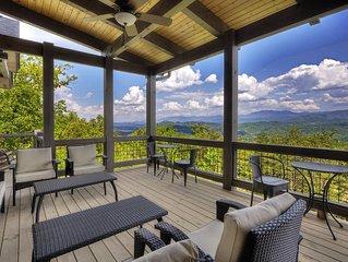 BREATH-TAKING Views !Rustic Modern Mountain Luxury.Handicap Friendly. NEW 2018!