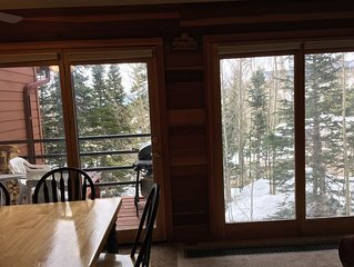 Amazing mountain condo!  2 BR, 2 Full Bath, fully equipped kitchen, club house!